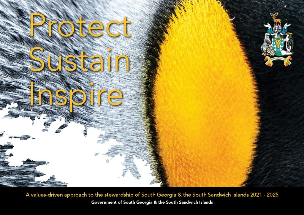 Cover of the GSGSSI Protect Sustain Inspire Document 2021